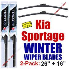 WINTER Wiper Blades 2-Pack Premium - fits 2017+ Kia Sportage - 35260/160
