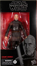 """Star Wars Black Series ~ 6"""" COUNT DOOKU ACTION FIGURE ~ Attack of the Clones"""
