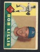 1960 Topps #354 Bob Lillis VG/VGEX Dodgers 48468