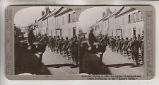 WWI STEREOVIEW - PRISONERS FROM KAISER'S BATTLE AT HANGARD - REALISTIC TRAVELS