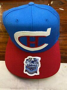 Reebok Men's 2016 NHL Winter Classic Montreal Canadiens Snap Back Hat