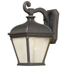 Outdoor Lantern Oil Rubbed Bronze Wall-Mount 1-Light Weather Resistant Classic