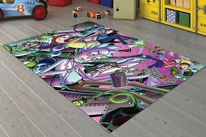 Rick And Morty   Carpet Non Slip Floor Carpet,Area Rug,Teen Carpet