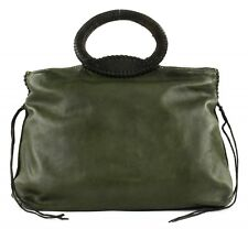 CATERINA LUCCHI Stitches Shopping Bag Military