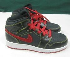 375174-062 Air Jordan 1 Retro Phat Premier Black YOUTH Size 6 WOMEN 7.5