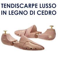TENDISCARPE LUSSO IN LEGNO DI CEDRO FORME ANATOMICHE DA SCARPE DOPPIA  ESTENSIONE dc28f436252