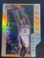 1996-97 Bowman's Best Allen Iverson Rookie Best Picks Refractor Rare!!!