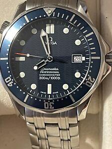 OMEGA Seamaster Professional 300m Full Size Automatic Watch 41mm James Bond 007