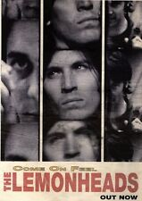 16/10/93PGN56 THE LEMONHEADS : COME ON FEEL ADVERT 15X11""