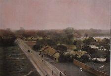 TONKIN, Tonkinese village ....Antique  photochrom, late 19th century