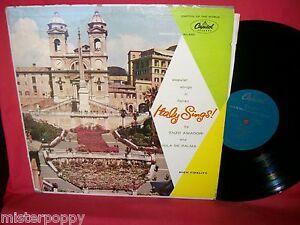 JULA DE PALMA ENZO AMADORI Italy Sings LP 1965 EX+