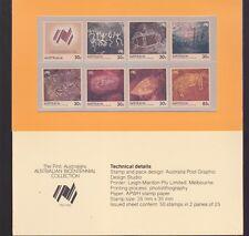 1988 Bicentennial Collection FIRST AUSTRALIANS Stamp Set aboriginal art