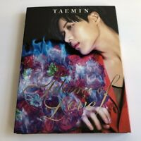 TAEMIN Flame of Love JAPAN CD+DVD+BOOKLET Limited Edition