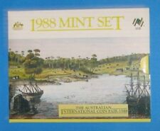 1988 Coin Fair Issue Mint Set Top Condition Scarce