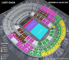Lady Gaga Chromatica Ball Tour Paris 24.07.2020 Ticket Stade de France