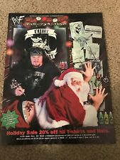 1998 WWF Merchandise Catalog Shirt Wrestling Buddies THE UNDERTAKER ROCK KANE DX