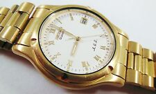 Seiko Gold Tone Base Metal 7M22-8A5L Sample Watch NON-WORKING #2