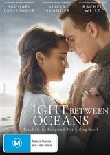 The Light Between Oceans (DVD, 2017) R4 NEW SEALED