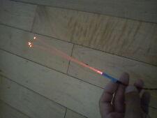 Star Wars Model Fibre Optic 5 Strand RED Led Light Science Fiction Model