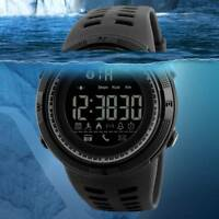 SKMEI Fashion Smart Watch Bluetooth Digital Sports Waterproof Men's Wrist Watch