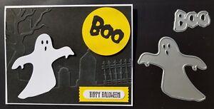GHOST & BOO METAL DIES, HALLOWEEN CARD, BUNDLE, LOT