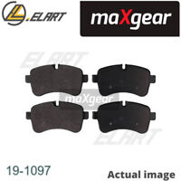 DISC BRAKE PADS SET  FOR IVECO DAILY IV PLATFORM CHASSIS F1CE0481FA MAXGEAR
