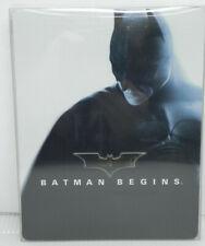 Batman Begins (2012, Steelbook, Blu-Ray) Christian Bale