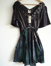 "BNWT The Remedi Stunning 100% Silk ""Ashiza"" Dress, Size S/M, RRP £95, Brand New!"