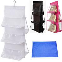 Protector Home Wardrobe Hanging Bag Handbag Tote Storage Organizers Closets Dust