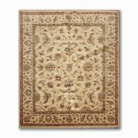 8' x 10' High Sheen Agra Hand Knotted New Zealand 100% Wool Traditional Area Rug