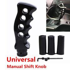 Black Gun Grip Knife Handle Manual Transmission Car Gear Shift Knob Aluminum