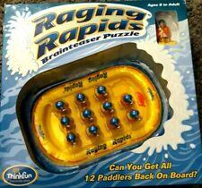 NEW Raging Rapids Brainteaser Puzzle Thinkfun Rafting 8 to Adult  019275063801