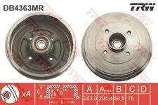 DB4363MR TRW Brake Drum Rear Axle