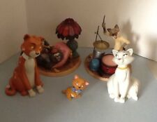 wdcc THE ARISTOCATS walt disney classics collection set of 5