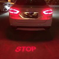LED Auto Laser Projektor Licht Antikollision Rücklicht Bremsleuchte Heck Warnung