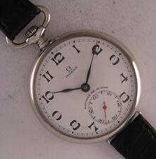 ALL ORIGINAL Serviced CHRONOMETRE OMEGA 1923 Swiss Hi Grade Wrist Watch Perfect