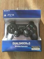 Official Genuine Sony PS3 Playstation 3 Dual Shock Bluetooth Wireless Controller