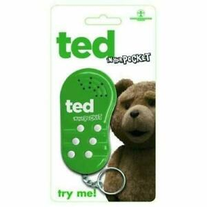 Ted The Movie In Your Pocket Talking Keychain Keyring