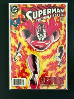SUPERMAN MAN OF STEEL #11 DC COMICS 1992 FN/VF NEWSSTAND