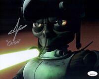 GWENDOLINE YEO Star Wars Clone Wars Signed 8x10 CATO Photo JSA COA