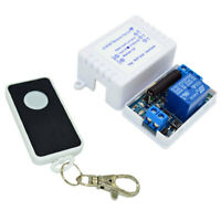 Perfeclan Wireless Relay Module Remote Control Switch 5V 12V 24V 433MHZ 1CH