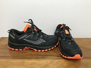 Mens Saucony Excursion Gore-Tex Running Shoes Size 10.5