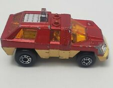 Matchbox N°59 PLANET SCOUT 1975 LESNEY ENGLAND Red