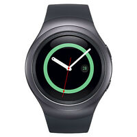 Samsung Galaxy Gear S2 42mm Stainless Steel Case Gray - (SM-R7200ZKAXAR)