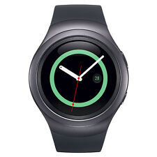 Inbox New Dark Gray Samsung Galaxy Gear S2 42mm R730a Steel Case. GSM Unlocked