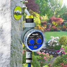 Timer temporizzatore irrigazione giardino acqua programmabile MAX 1 SETTIMANA