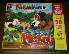 Zynga Farmville Hungry Hungry Herd Hippos Animals Eating Marbles A205 Gaming
