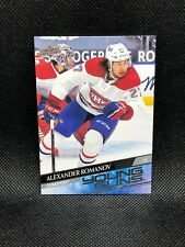 New listing Alexander Romanov 2020-21 Upper Deck Series 2 Hockey Young Guns Rookie RC