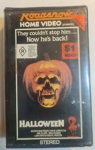 HALLOWEEN 2 VHS