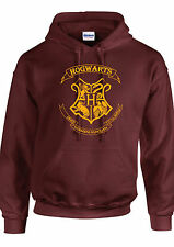 HOGWARTS EMBLEM hoodie HARRY POTTER hoodie  RON HERMIONE WOMEN,MENS KIDS